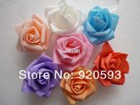 Cheap Free shipping PE foam rose flower handmade DIY wedding home decoration artificial flower made flower balls and hand flower