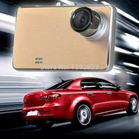 Wholesale car dvd Ultra thin Inch LCD Car DVR Vehicle Camera Video Recorder Gold SGG