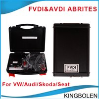 software dongle - 2015 FVDI AVDI ABRITES Commander For VAG VW Audi Seat Skoda USB Dongle Get Hyundai Kia Tag Key Tool and VVDI ImmoPlus V13 free software