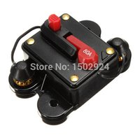 Wholesale For DC V Resetable Auto Car Audio System Boat Inline Fuse Circuit Breaker A AMP