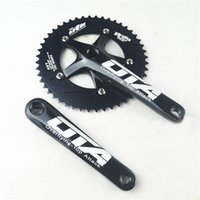 alloy racing gear - OTA Racing Bicycle Cranksets Aluminum Alloy Cranksets Advanced Single Speed Fixed Gear Bikes Cranksets D1