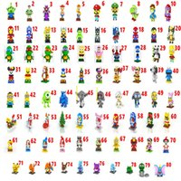 Wholesale Building blocks LOZ Poke the avengers Despicable Me Super Mario Jobs Christmas blocks small particles assembled fight inserted blocks