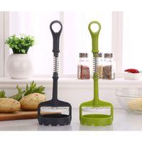 potato - New Potato Masher Sweet Potato Mud Pressure Machine Fruit Ricer Juicer Crusher Squeezer Kitchen Accessories Cooking Tools