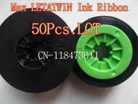 printer ribbon - Ink Ribbon LM IR300B compatible For Max LETATWIN Flatbed Printer Shrink Tube Cable Marker ID Printer LM E LM A LM A