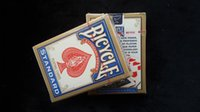 Wholesale Bycicle playing cards Blue Card Magic