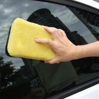 Wholesale Car Auto Washing Cleaning Sponge Block Cleaner Wiper Mini Yellow Honeycomb Coralline Car Sponge