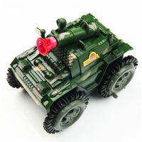 amphibious rc - Stunt Tank Toy Diecast Car Model Toy Cars Challenger Amphibious Stunt Panzer Striker RC Tank R C Boat New