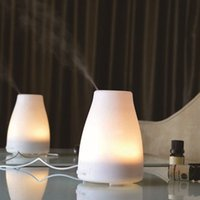 air condition oil - Mini LED USB Essential Oil Air Humidifier Aromatherapy Aroma Diffuser Air Conditioning Appliances Humidifiers