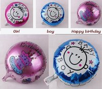 best baby stores - New Colorful Foil Balloons Birthday Day Party Decoration Best Toy For Baby Kids Store Decor Best Quality