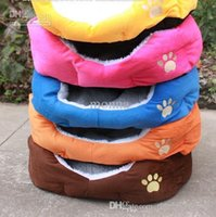 Wholesale 1pc Gift Cute Warm Soft Comfortable Pet Dog Cat Bed Style Sleep Free O P03