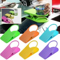 Wholesale Brand New Office Table Desk Drink Water Cup Coffee Cup Holder Clip Drinklip Hot Selling