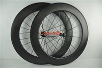 Wholesale 25mm rim width mm full carbon dimple wheelset C wheels road bicycle dimple wheels with logo