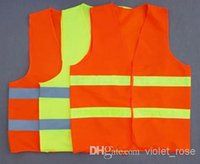 Wholesale overalls High Visibility Sanitation vest Reflective Vest Safety Vest