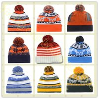 Wholesale Denver Beanies Hat For Men Cool Bronco American Football Knitted Hat Sport Skullies Warm Women Winter Hat