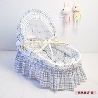 Wholesale Hot Selling New Arrival Infant Sleeping Basket Baby Bed Portable Outdoor Baby Sleep Crib Baby Carrycot Little Newborn Bassinet