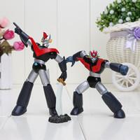 Mazinger Z action figure bags - 7cm cm Anime Action Figure Kids Toys Mazinger Z PVC Action Figure style set Chritmas Gifts box opp bag
