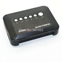 Wholesale 2014 Hot P HD SD MMC TV Videos SD MMC RMVB MP3 Multi TV USB HDMI Media Player With Remote control