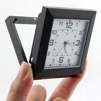 Precio de Cámara espía venta caliente-Reloj vendedor caliente de la cámara del espía Cámara ocultada DVR del agujero de alfiler DV mini videocámara del reloj del detector de movimiento