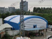 Wholesale Huge inflatable commercial moving arch tent giant inflatable arched tent for event and exhibition