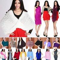 100% New And High Quality poncho shawl - New Arrivals Fashion Women Girls Magic Warm Scarf Scarves Multiple Style Soft Shawl Neck Warmer Wrap Cardigan fx204