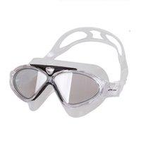 Wholesale Professional Anti Fog UV Swimming Goggles Coating Swim Glasses For Men Women And Fashion Sports Children Swim Eyeglasses J8170
