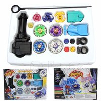 beyblade track - New Metal Fusion Top Rapidity Fight Master Rare Beyblade D Launcher Grip Set order lt no track