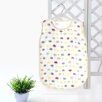 Wholesale Comfortable Soft Mushroom Pattern Baby Infant Sleeping Bag Swaddle Snap Fasteners cm Useful Baby Accessories