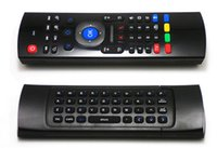 Wholesale X8 Ghz Wireless Keyboard MX3 with Axis Mic Voice D IR Learning Mode Fly Air Mouse Remote Control for XBMC Mini PC Android Smart TV Box