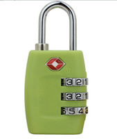 Wholesale Chromophous tsa335 password lock luggage lock bags trolley luggage padlock TSA locks