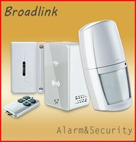 Wholesale 2015 New Arrival Broadlink S1 Alarm Security SmartOne Kit For Connected Smart Home Alarm System IOS Android Remote Control