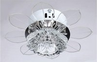 Wholesale New Modern Crystal LED Ceiling Light Ceiling fans Fixture Lighting Chandelier N