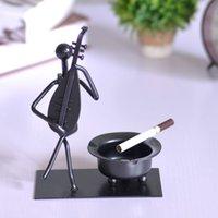 personalized ashtray - Modern minimalist ashtray Iron crafts home decorations ornaments creative gifts personalized fashion decoration soft