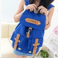 beaded sequined lace fabric - a049 Fashion new Korean tidal backpack first double pocket pumping port schoolbags shoulder Backpack Style handbag