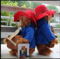 bear essentials - Hot Toys New Cm Red Hat Stuffed Bear Doll Cute Little Paddington Bear Plush Toy Children s Essential Gift