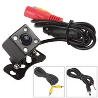 Wholesale 420TVL Night Vision Car Rear View Camera Wide Angle Universal Car Reverse Rearview Camera Auto Car Backup Parking Camera