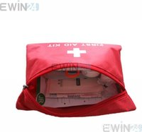 Wholesale New and High Quality Emergency Travel Survival First Aid Kit Medical Bag Packet set sets