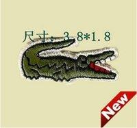 Wholesale 300pcs Crocodile Alligator Embroidered Iron On Patch Applique Badge cm cm