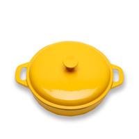 Wholesale Top Grade Dutch Oven Kitchen Tools Cast Iron Pan Ovens Pot Round Enamel Pot Cooking Soup Pots