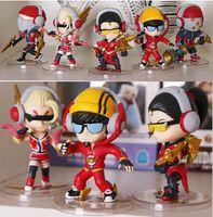 Wholesale 5pcs LOL Game Action Figure Toys Dolls Champion SKT A1 Model Set For Collection Or Gift
