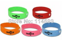 Cheap 2000PCS GREENLUCK Anti Mosquito GreenBug Repellent Wrist Band Bracelet Insect Bug Lock Camping 1010#16