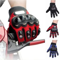 Wholesale Motorcycle Racing Riding Gloves Road Warm Sports Motorbike Driving Cycling Gloves Five Fingers Gloves Colors Choose EMF