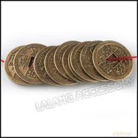 Wholesale 150pcs Vintage Chinese Coins Charms Pendants Beads Art Collection x24x1 mm