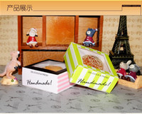 baby print paper - 2016 new food packaging box snack box Cake Party baby shower Bakery box west point cake box mousse Cake Boxes