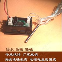 Wholesale Thermometer Digital Thermometer C power supply V m stainless steel wire