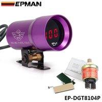 Precio de Pressure sensor-EPMAN 37mm - Aceite de lentes ahumadas compacto Micro Manómetro digital medidor automático Sensor del hilo púrpura NTP 1/8 EP-DGT8104P