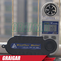 barometric pressure humidity - AZ8909 Air Velocity Temperature and Humidity Dew Point Temperature Tester Air Flow Barometric Pressure Tester