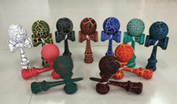 Wholesale hot selling Japanese traditional wooden toys kendama skills ball full crack jade sword ball cm kendama best gift for children kids