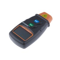 Wholesale 2015 New Arrival Digital Laser Photo Tachometer Non Contact RPM Tach High Resolution order lt no track