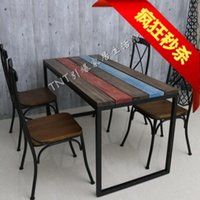 manicure table - Iron wood table table bar chair bar stool bar stool chair chair high chair Manicure cross chairs