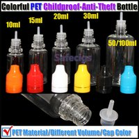 5ml 10ml 15ml 20ml 30ml 50ml 100ml childproof bottles childproof caps E cigarette childproof dropper bottles needel bottle with childproof caps 5ml 10ml 15ml 20ml 30ml 50ml 100ml for e liquid e juice e cigs